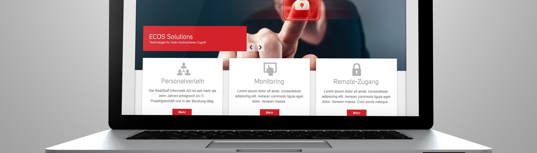 Redesign RealStuff Corporate Identity