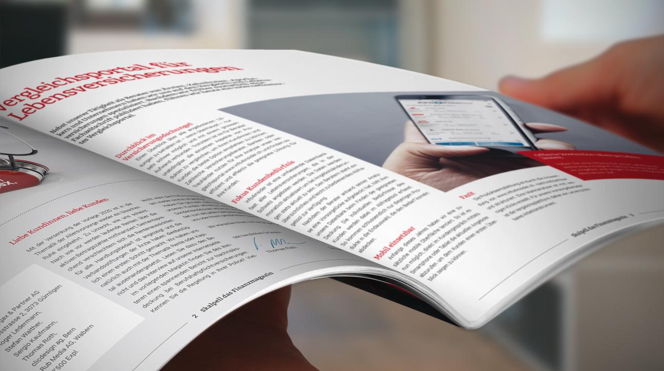Skalpell Kundenmagazin
